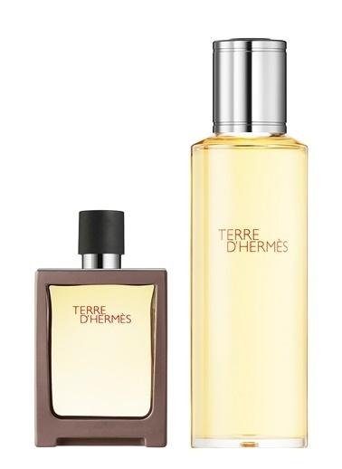 Hermes Terre Refill Edt 125Ml+30Ml Erkek Parfüm Set Renksiz